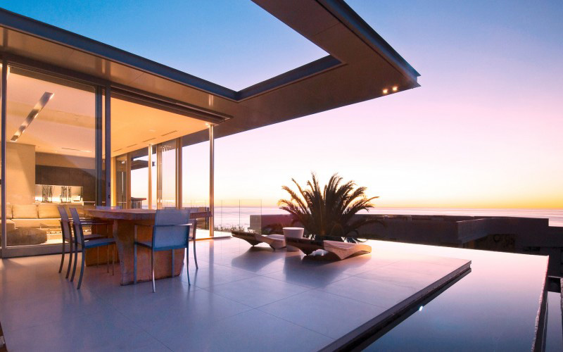 6 star luxury  villa Camps Bay, spectacular pool