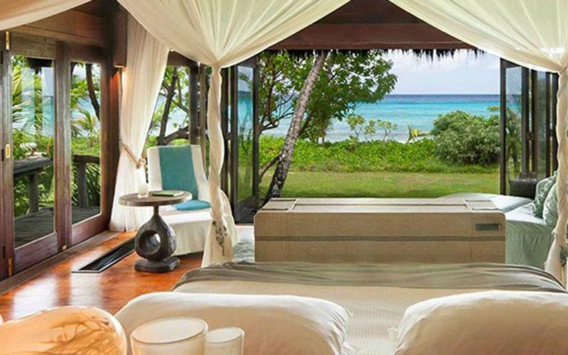 Luxurious villa in Seychelles