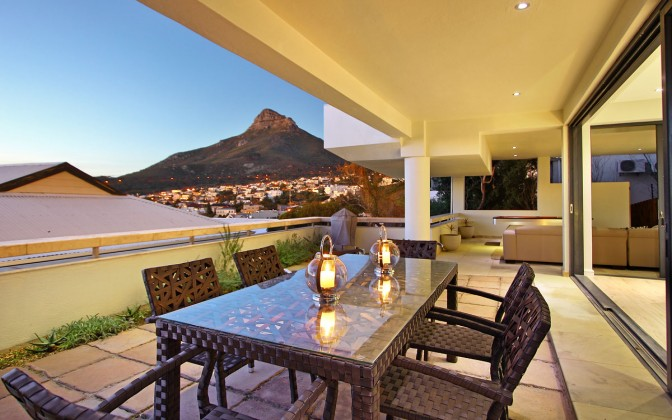 Vacation villa in Camps Bay