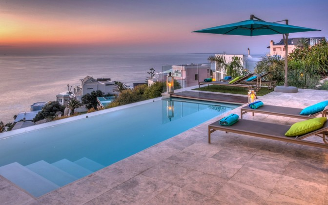 Bantry Bay luxury  villa, with pool, family friendly