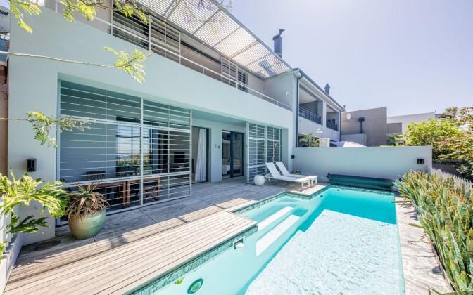 villa in De Waterkant
